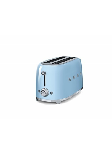 Smeg TSF02PBEU Linea 50's Retro Style Mavi Dörtlü Ekmek Kızartma Makinesi Mavi